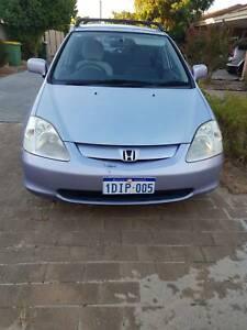 Honda Civic Hatchback 2003 (negotiable)