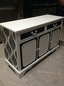 Gorgeous Vintage Custom Finished Buffet