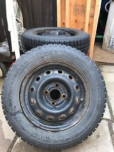 4x100 snow tires and rims