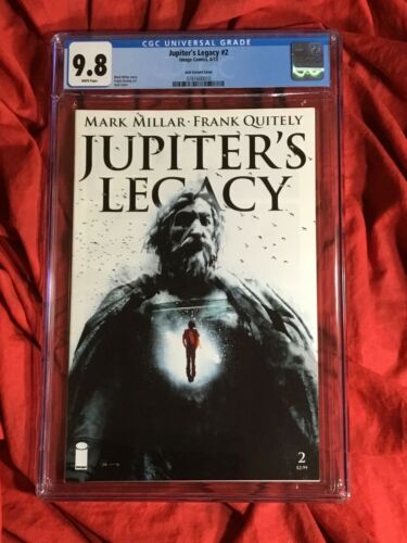 CGC 9.8~JUPITER'S LEGACY #2~1st PRINT JOCK VARIANT~NEW NETFLIX TV SHOW~IMAGE~