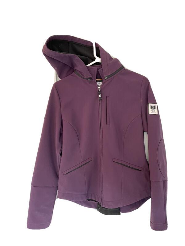 Asmar Equestrian Small purple Hooded jacket