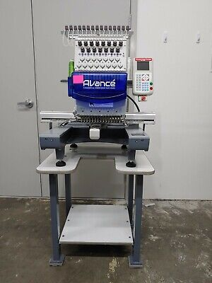 Avance Embroidery Machine 1501c Accessories. Great Condition