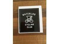"TREK /""Waterloo Cycling Club/"" Bicycle Cycling ~ Tech Tattoo"
