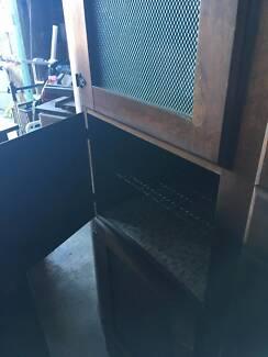 Art Deco kitchen hutch