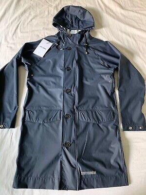 STUTTERHEIM Ekeby Lightweight Raincoat Navy Unisex XXS New with Tags Retail $195