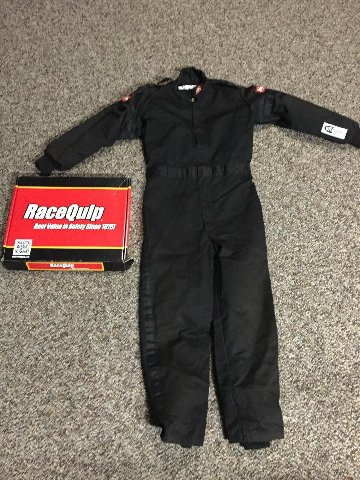 RaceQuip Youth Racing Suit Large