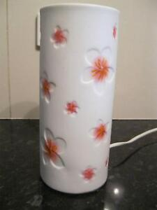 frangipani lamp   works perfectly   25cm tall Para Hills Salisbury Area Preview