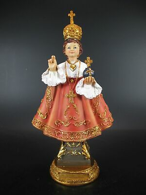Prague Jesus child Infant jesus 23 cm Poly Statue Church Karmelitenkloster New