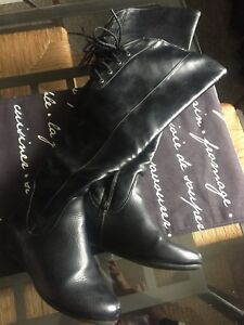 Gently used boots and heels