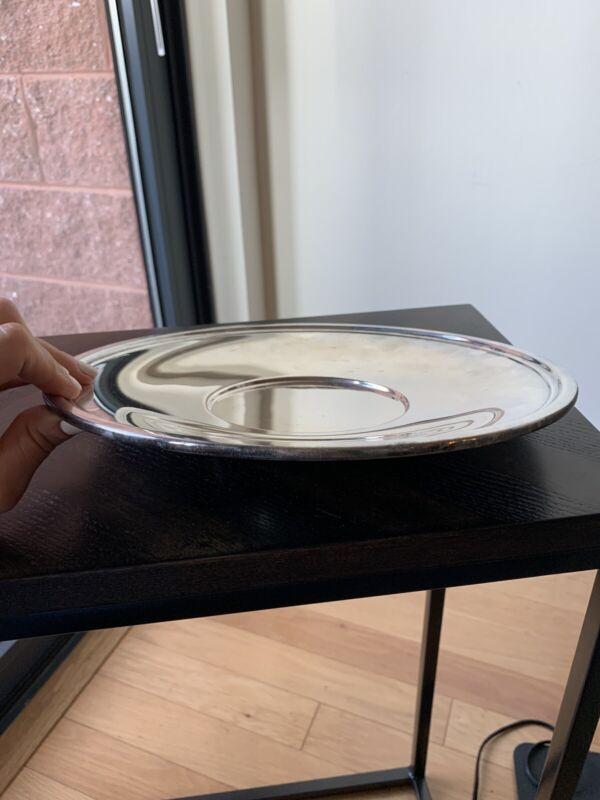 Antique J. E. Caldwell Silver Plated Dish 10.5'', Reed & Barton, 317 Grams