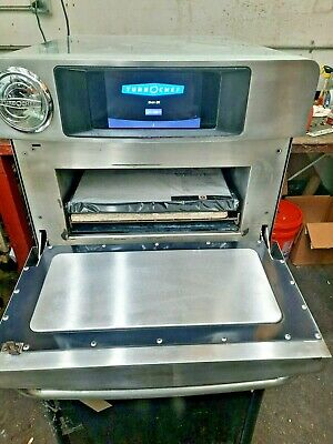Turbochef Bullet Rapid Cook Oven Microwave Clean Tested