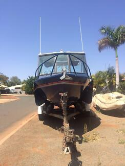 23ft Ali Tri Hull custom built with 2008 Honda 225hp outboard West Perth Perth City Preview