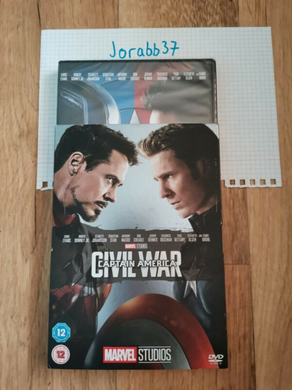 Captain+America%3A+Civil+War+%5BDVD%5D+10th+anniversary+limited+edition+sleeve