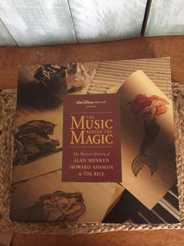 Walt Disney Records Presents The Music Behind The Magic  4 Cd Box Set
