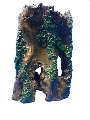 TREE TRUNK HOLLOW LOG FS090 AQUARIUM RESIN SWIM THROUGH TANK DECOR
