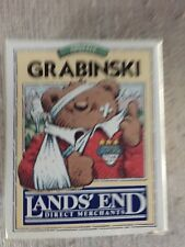 Lands' End Grabinski Rugby Bear Christmas/Holiday Ornament ...