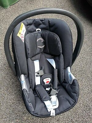 Cybex Aton Q Baby Car Seat - Stardust Black