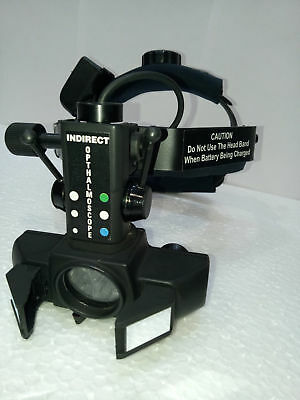 Wireless Indirect Ophthalmoscope With Accessories Optometry Rechargeable Charger