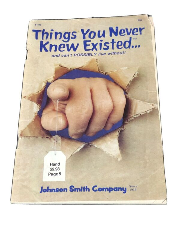Johnson Smith Company catalog - Things You Never Knew Existed - 1990