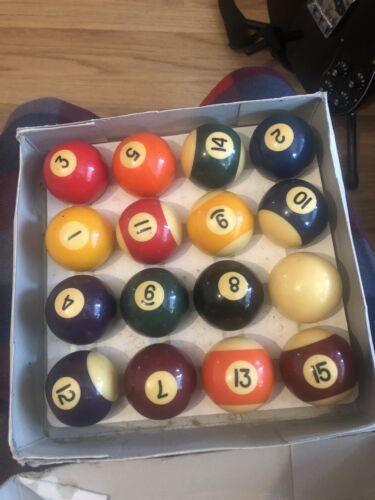 Pool Balls Set Of 16 2