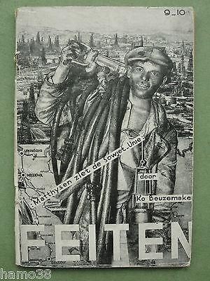 Cas OORTHUYS (as Arfot2) 1932: FEITEN 9-10  (rare Communist photo-montage)