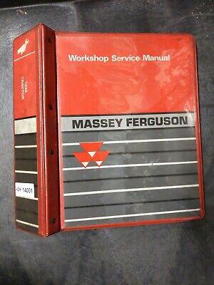 Massey Ferguson Mf1233 Tractor Workshop Service Manual