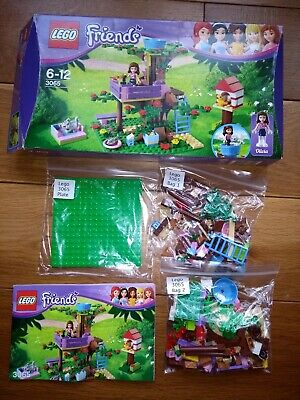 LEGO Friends 3065: Olivia's Tree House. Boxed 100% complete.