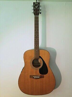 Yamaha FX310 Natural Gloss Finish Electro Acoustic Guitar