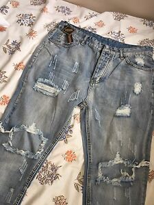 White-washed Slim Fit Jeans BRAND NEW size 34