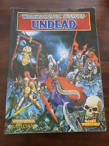 warhammer armies undead book