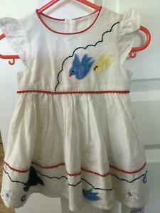 Baby cotton dress, age 3-6mths from marks and Spencer BNWT