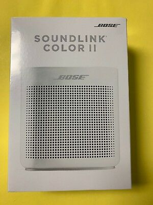Bose SoundLink Color II 2 Bluetooth Speaker - Pearl White - NEW SEALED