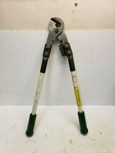 Greenlee No 704 Heavy Duty Cable Wire Cutter Timesaving Tool Free Shipping