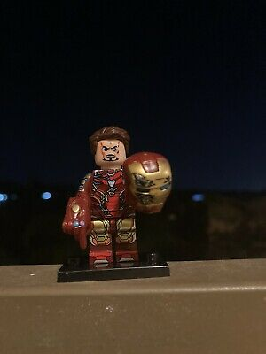 Lego Marvel Superheroes Minifigures Avengers Endgame Iron Man MCU Infinity
