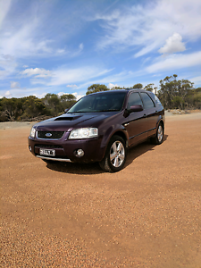 2007 Ford Territory Turbo Ghia Bruce Rock Bruce Rock Area Preview