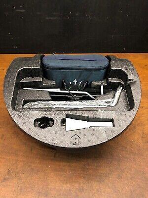 2014 Maserati Ghibli S Q4 Emergency Spare Wheel Jack Lift Tool Kit Set OEM