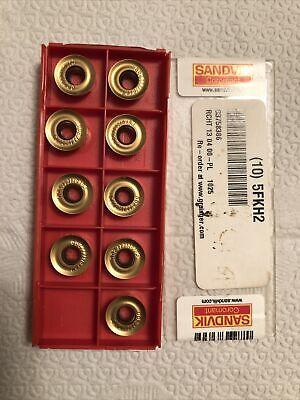 Sandvik Rcht 13 04 00 Pl Grade 1025 Lot Of 9 Inserts