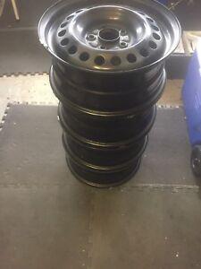 "Factory 16"" OEM 5x114.3 Steel  Rims Like New!"