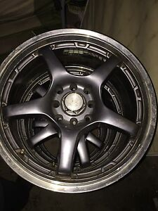 "4x100mm 16"" set of wheels-SOLD"