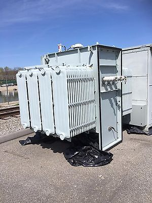 Ge Prolec 2000 Kva 13200 Primary 480y277 Secondary Substation Transformer Fr3