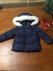 Baby girl outwear winter jacket snow pants snow suit mittens