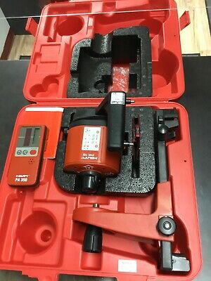 Hilti Pr15 Pr 15 Self Leveling Laser Level W Pa350 Receiver Case