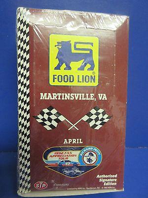 1992 Food Lion Martinsville  Va  Nascar Trading Cards