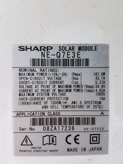 Sharp solar panel Forest Lake Brisbane South West Preview
