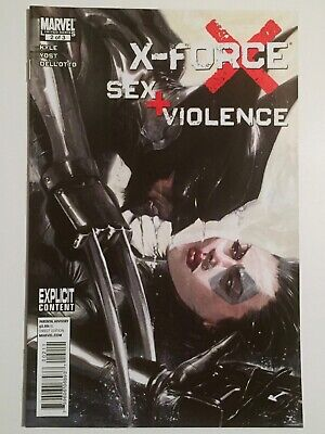 X-FORCE SEX & VIOLENCE #2 GABRIELE DELL'OTTO ART COVER VF/NM 1ST PRINTING DOMINO for sale  Pitt Meadows