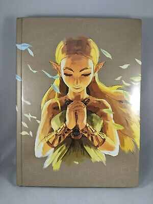 The Legend of Zelda Breath of the Wild The Complete Official Guide Hard Cover