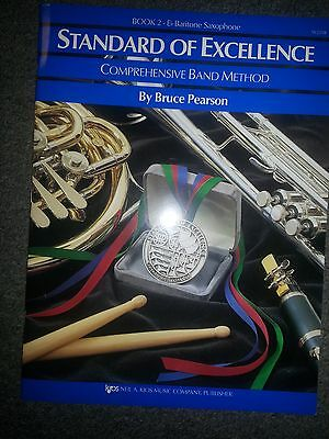 STANDARD OF EXCELLENCE BAND METHOD BOOK 2 Eb BARITONE SAXOPHONE