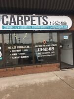 Carpet installation for 30 years