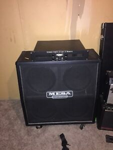 Mesa Stereo 2:90 power amp and cab