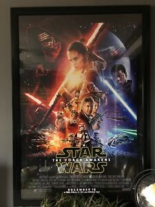 Rare Star Wars: The Force Awakens **Movie theatre official**